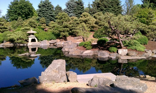Denver Botanic Gardens' current Japanese Garden