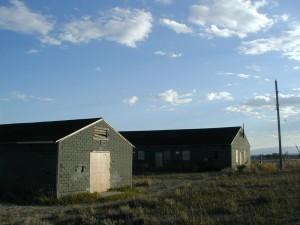 Barracks at Heart Mountain