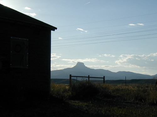 Heart Mountain internment camp in Wyoming