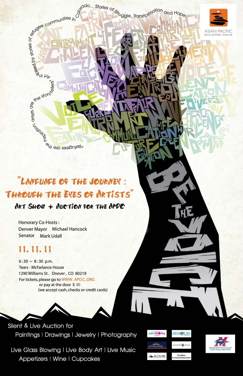 Language of the Journey - APDC fundraiser