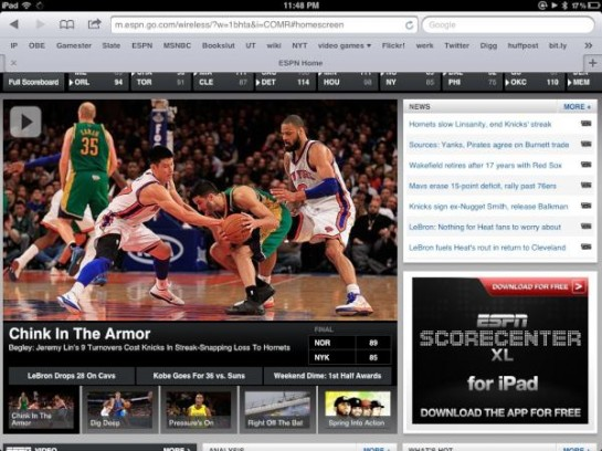 Racist headline used by ESPN after Jeremy Lin and Knicks' 2/17 loss to Hornets