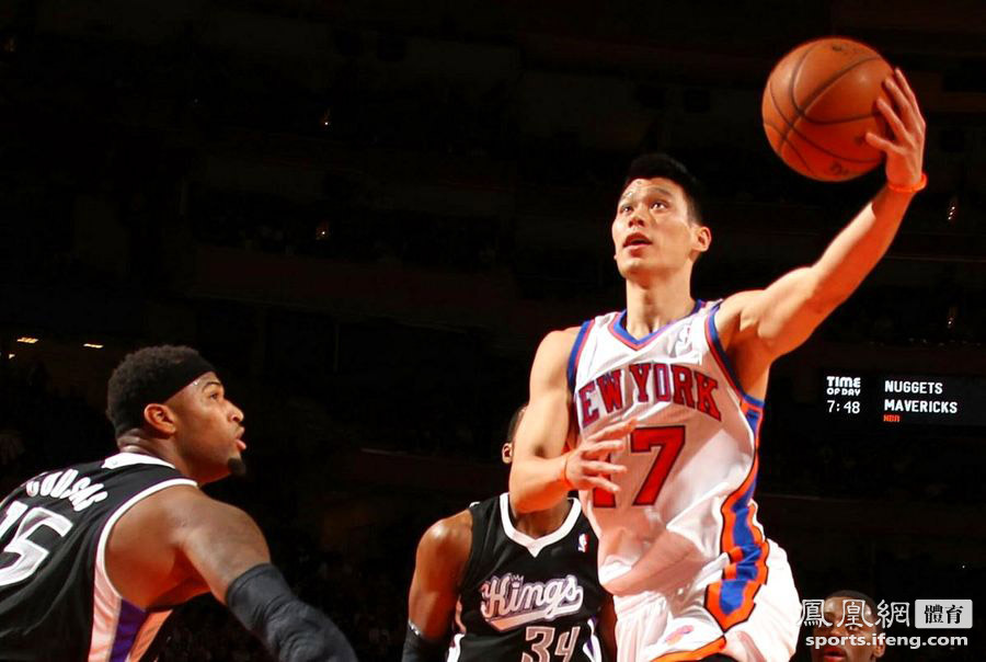Jeremy Lin leads the Knicks over the Kings