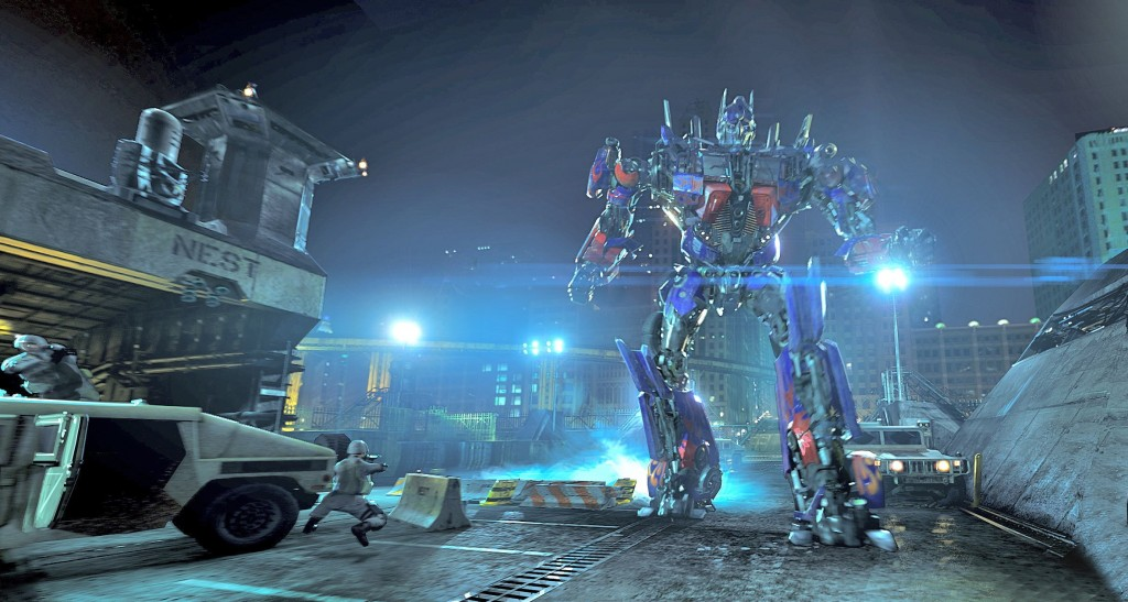 Optimus Prime in Transformers The Ride-3D