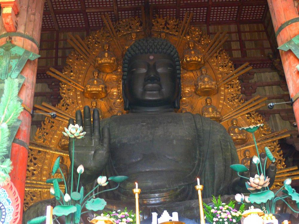 Bronze Buddha at Todaiji Temple, Nara, Japan