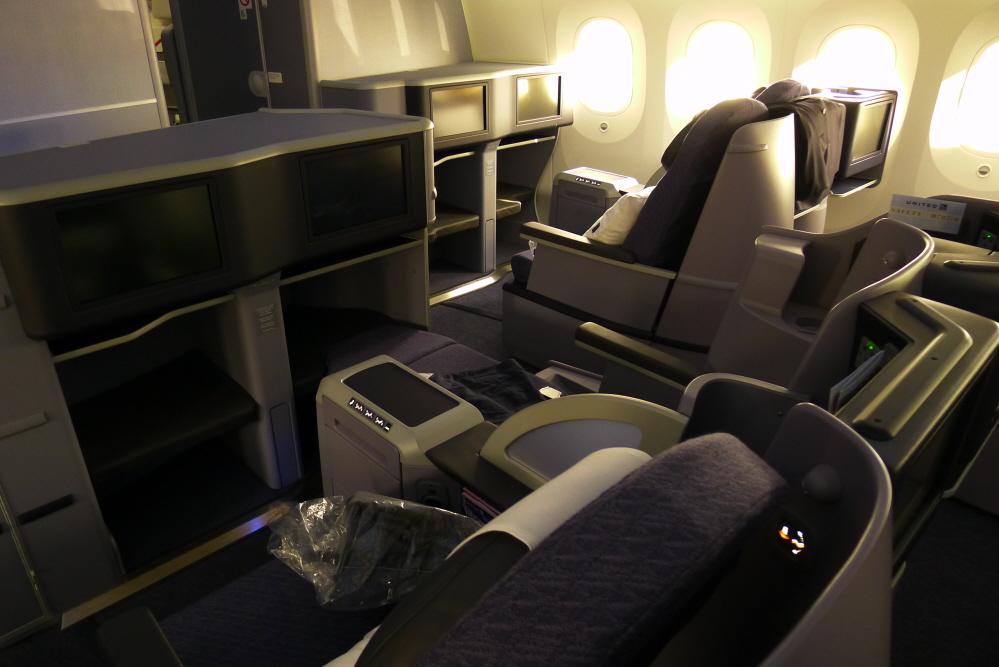 dreamliner first class
