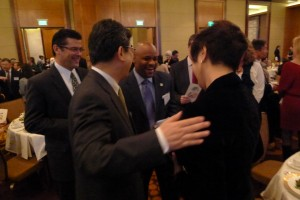 jasc banquet, mayor hancock and consul general and mrs Ono