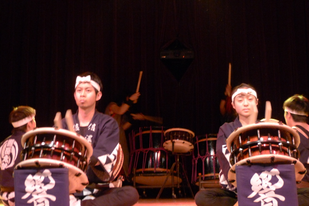 Kyogaku taiko drum group from Matsukawa, Japan