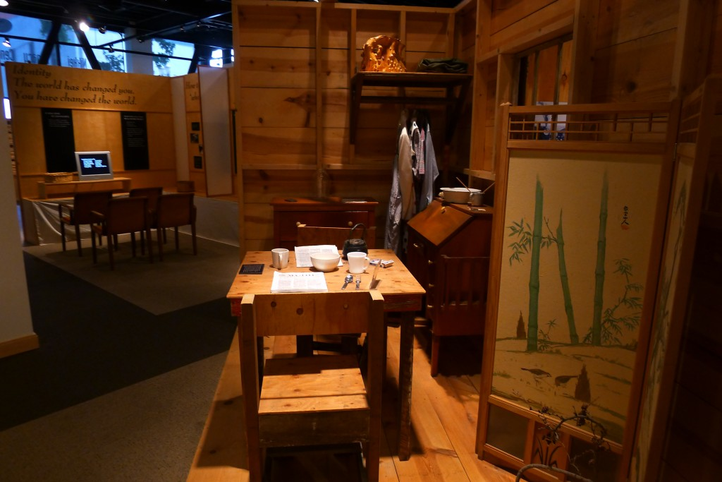 Oregon Nikkei Legacy Center internment exhibit